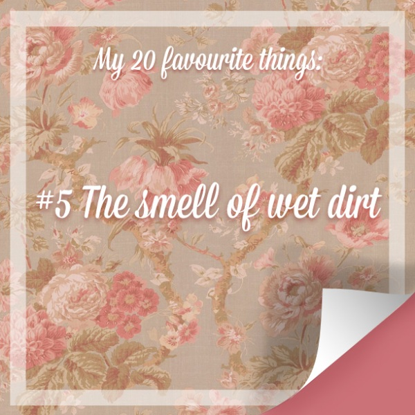 My 20 Favourite Things #5