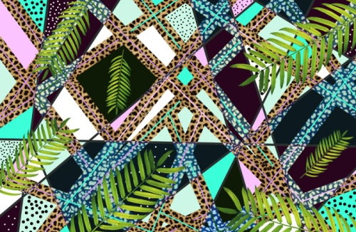 aiwaiwa-tropical-pattern-palm-trees-neon-hipster-tumblr-summer-geometric-native-80s-art-design-urban-outfitters-style