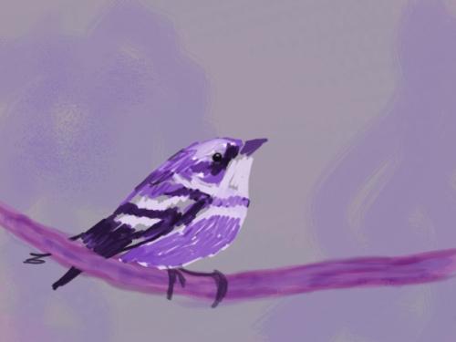 little_purple_bird_by_silvanne-d38dotw