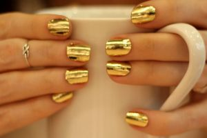 Gold-nail-art-design-8