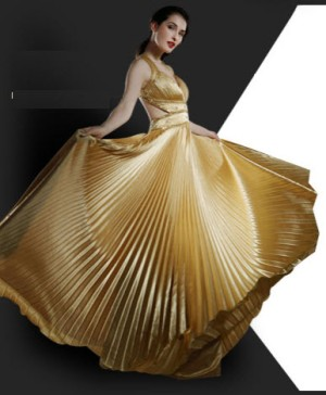 golden-satin-evening-dresses